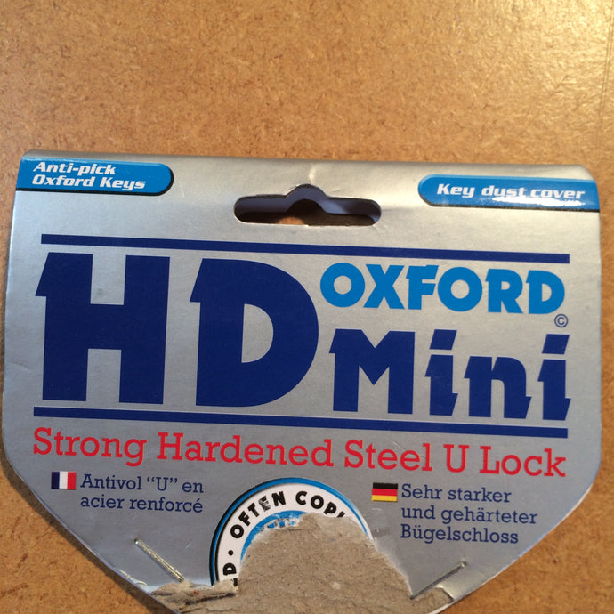 LOCK : Oxford HD Mini U Lock [3keys] *12