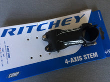Load image into Gallery viewer, STEM : Ritchey Comp 4 Series Aluminium 6 deg Stem - 9/8""