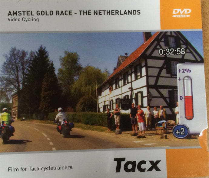 DVD : Tacx Video Cycling DVD : Amstel Gold Race - The Netherlands