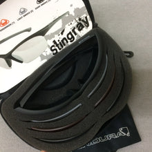 Load image into Gallery viewer, GLASSES : Endura Stingray 4 lens Cycling Sunglasses + soft sleeve + case