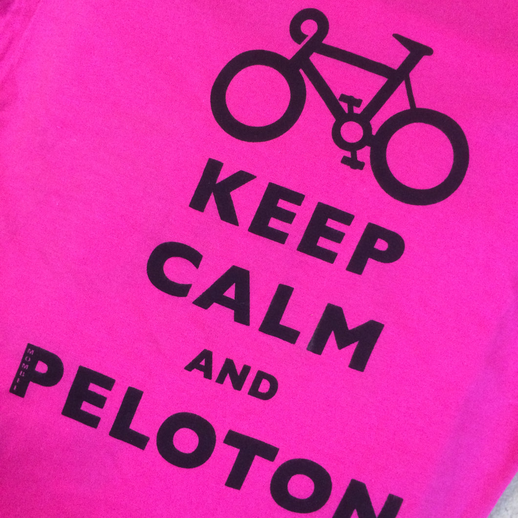 T-SHIRT : Keep Calm and Peloton Soft Style Child's T Shirt [S/5-6]