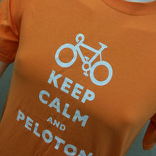 Load image into Gallery viewer, T-SHIRT : Keep Calm and Peloton Ultra Cotton Men's T Shirt [M]