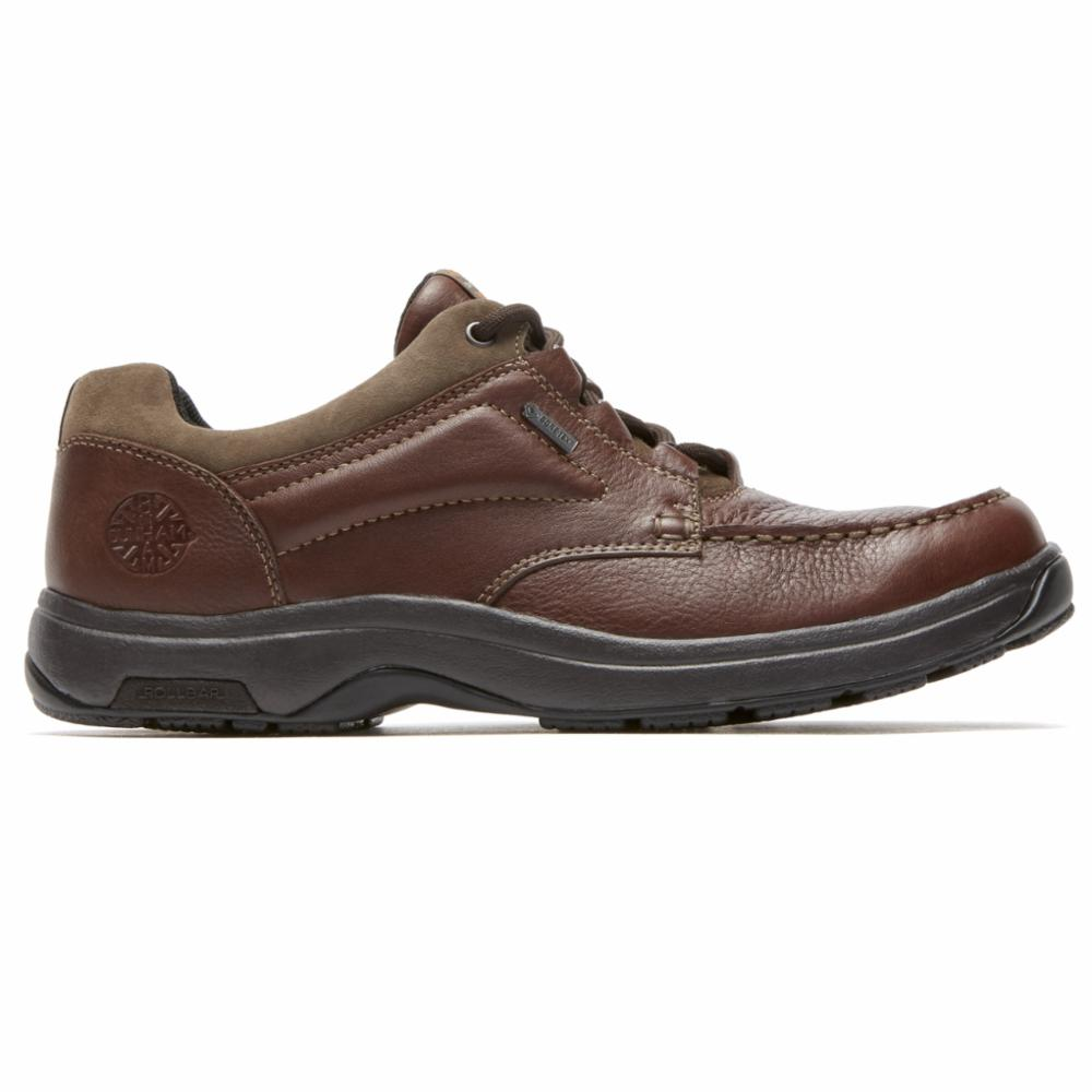 Dunham 8000 EXETER LOW LACE UP BROWN