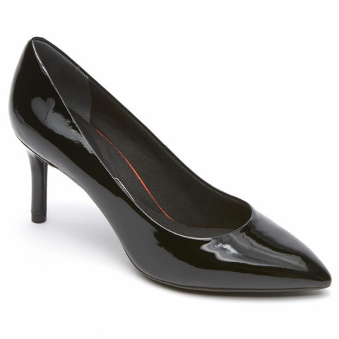 Rockport Women TOTAL MOTION 75mmPTH PLAIN PUMP BLACK/PATENT