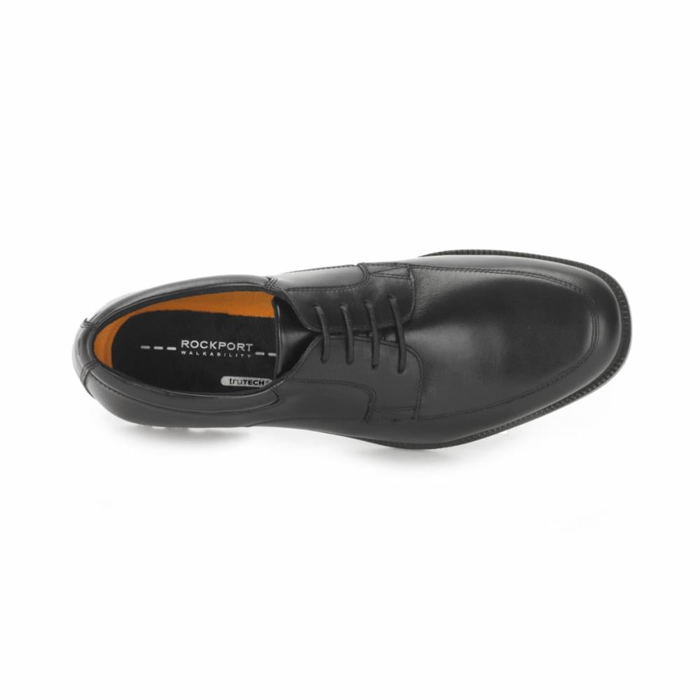 Rockport Men LEAD THE PACK TOE BLACK/LEATHER WP