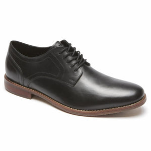 Rockport Men STYLE PURPOSE PLAIN TOE BLACK/LEATHER 2