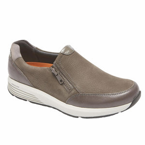 Rockport Women TRUSTRIDE SIDE ZIP LTD DARK GREY