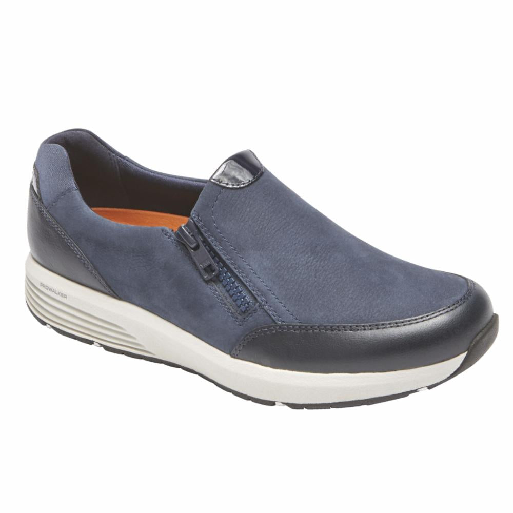 Rockport Women TRUSTRIDE SIDE ZIP LTD DARK BLUE