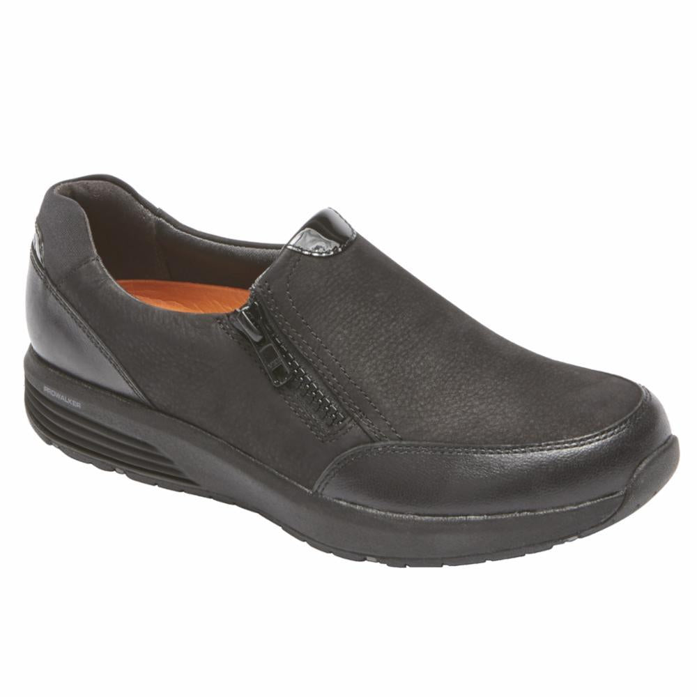 Rockport Women TRUSTRIDE SIDE ZIP LTD BLACK