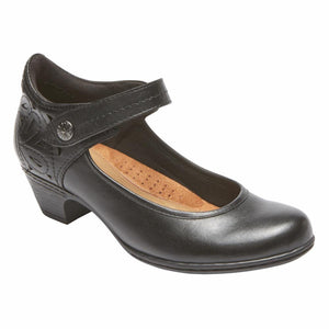 Cobb Hill ABBOTT ANKLE STRAP BLACK/LEATHER