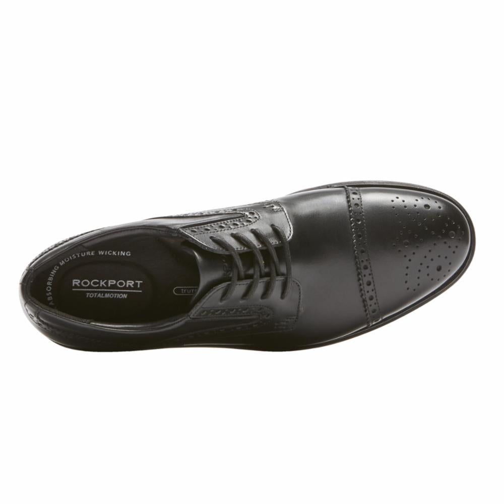 Rockport Men TOTAL MOTION CLASSIC DRESS CAP TOE BLACK
