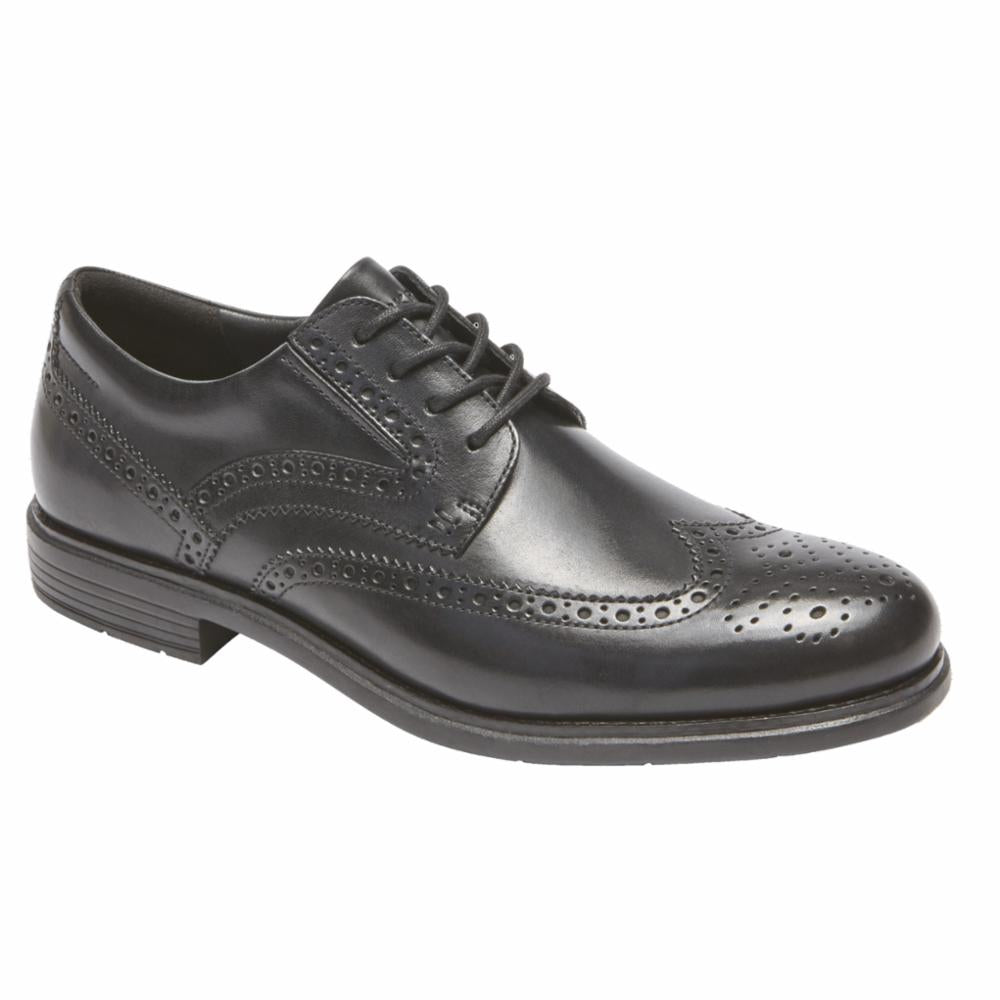 Rockport Men TOTAL MOTION CLASSIC DRESS WING TIP BLACK