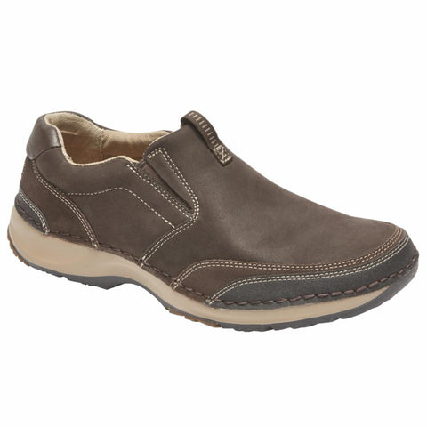 Rockport Men RSL FIVE SLIP ON DARK BITTER CHOCOLATE