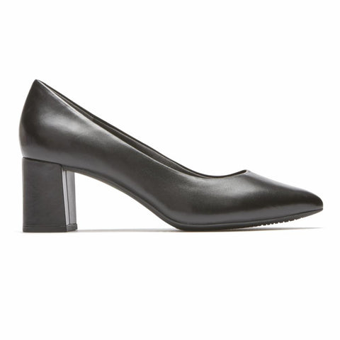 Rockport Women TOTAL MOTION SALIMA PUMP BLACK/LEATHER