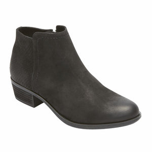 Rockport Women VANNA 2 PART BLACK/NUBUCK
