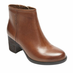 Cobb Hill NATASHYA BOOTIE ALMOND/LEATHER
