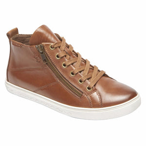 Cobb Hill WILLA HIGH TOP ALMOND/LEATHER