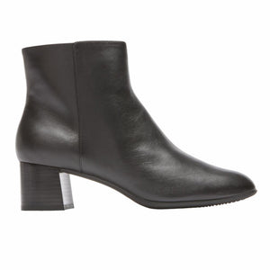 Rockport Women TOTAL MOTION NOVALIE BOOTIE 2 BLACK/LEATHER