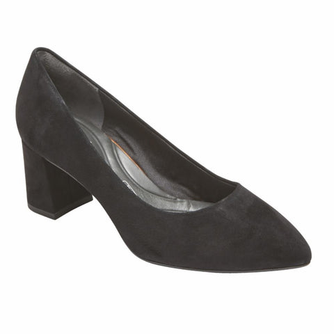 Rockport Women TOTAL MOTION SALIMA PUMP BLACK/SUEDE