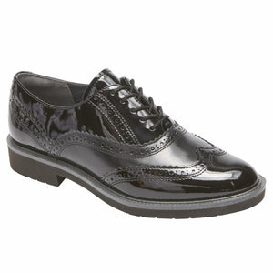 Rockport Women TOTAL MOTION ABELLE WING TIP BLACK