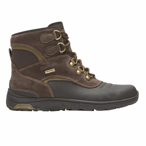 Dunham TRUKKA WATERPROOF WP HIGH BROWN