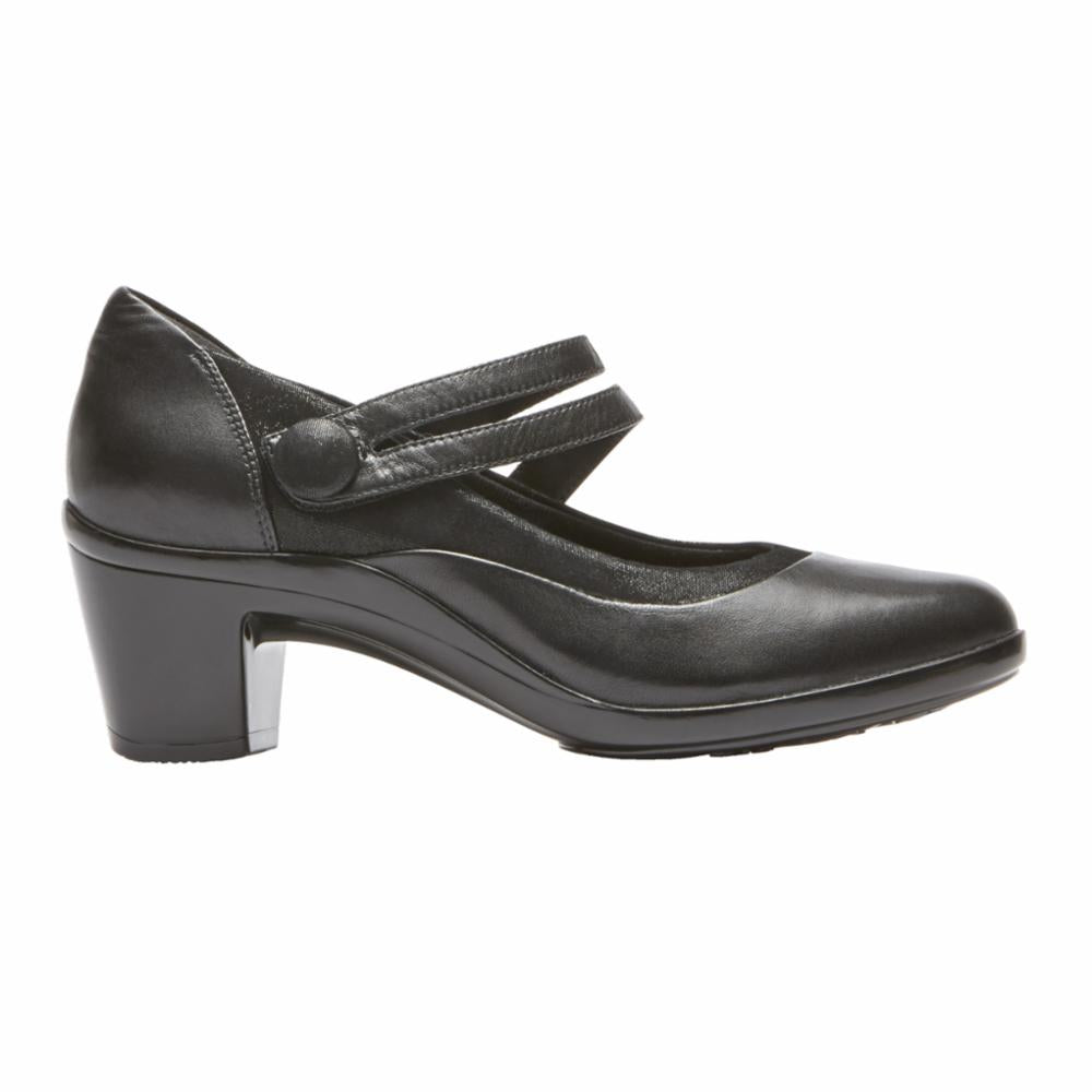 Aravon LEXEE MARY JANE BLACK/LEATHER