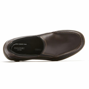 Rockport Men GET YOUR KICKS MOC TOE SO DARK BROWN