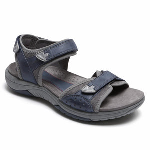 Rockport Women FRANKLIN THREE STRAP BLUE