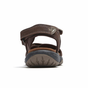 Cobb Hill FRANKLIN THREE STRAP BROWN
