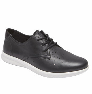 Rockport Women CITY LITE AYVA OXFORD BLACK/LEATHER