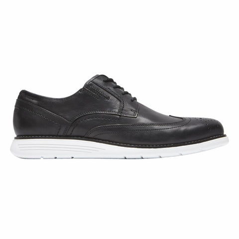 Rockport Men TOTAL MOTION SPORT DRESS WINGTIP BLACK/LEATHER