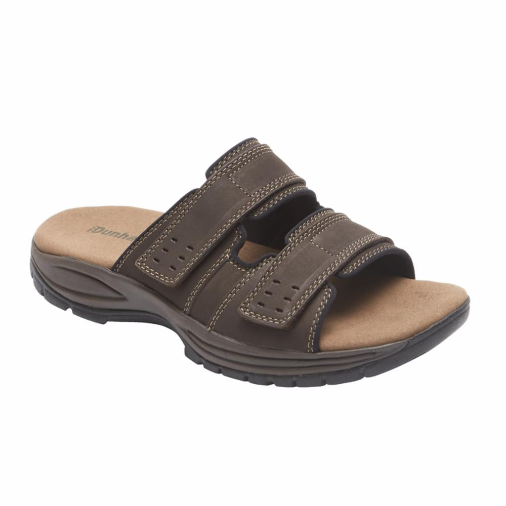 Dunham NEWPORT SLIDE DARK BROWN