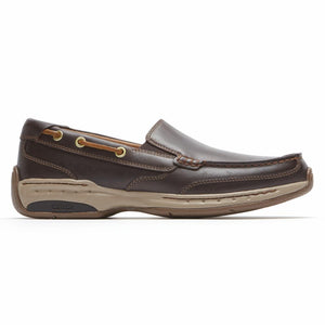 Dunham WATERFORD WATERFORD SLIP-ON TAN
