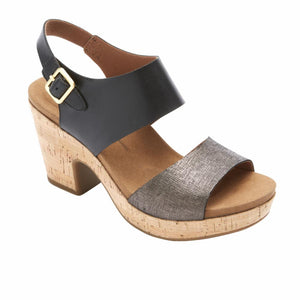 Rockport Women VIVIANNE 2 PART BLACK/MULTI