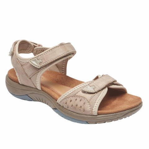 Rockport Women FRANKLIN THREE STRAP SAND
