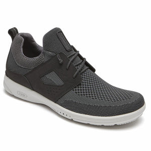 Rockport Men TRUFLEX KNIT BUNGEE BLACK