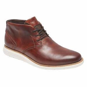 Rockport Men TOTAL MOTION SPORT DRESS CHUKKA TAN/LEATHER