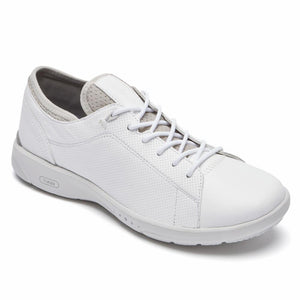 Rockport Women TRUFLEX LACE TO TOE WHITE