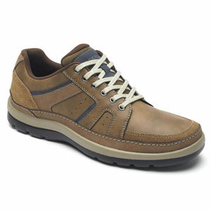Rockport Men GET YOUR KICKS MDG BLUCHER TAN W/EMBOSS