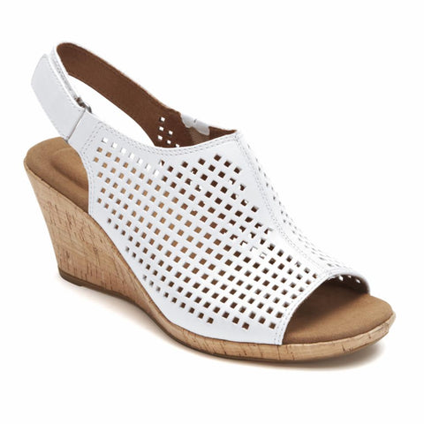 Rockport Women BRIAH PERF SLING WHITE