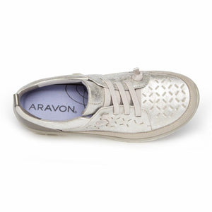 Aravon WEMBLY LACE SILVER