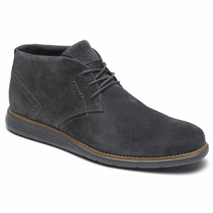 Rockport Men TOTAL MOTION SPORT DRESS CHUKKA WINTER SMOKE