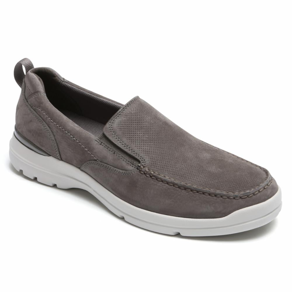 Rockport Men CITY EDGE SLIP ON BREEN/NUBUCK