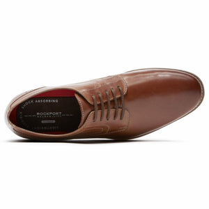 Rockport Men SYMON OXFORD COGNAC