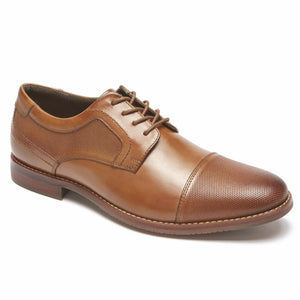 Rockport Men SYMON CAP COGNAC