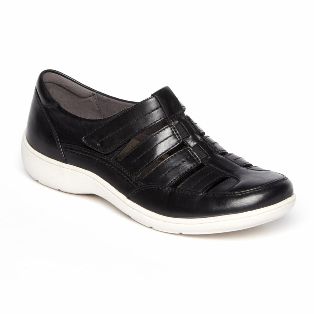 Aravon BROMLY FISHERMAN BLACK/LEATHER