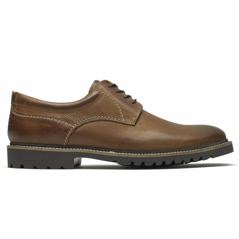 Rockport Men MARSHALL PT OXFORD FAWN