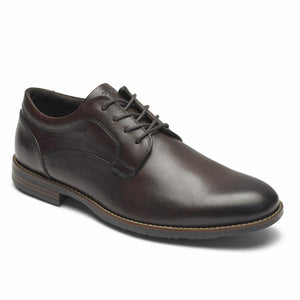 Rockport Men DUSTYN PLAIN TOE COCOA BROWN