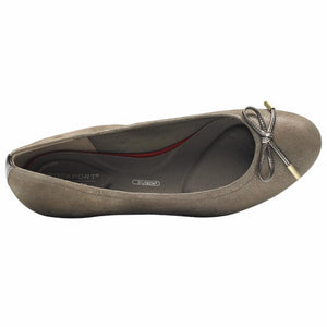 Rockport Women TOTAL MOTION HW20 TIED BALLET TAUPE