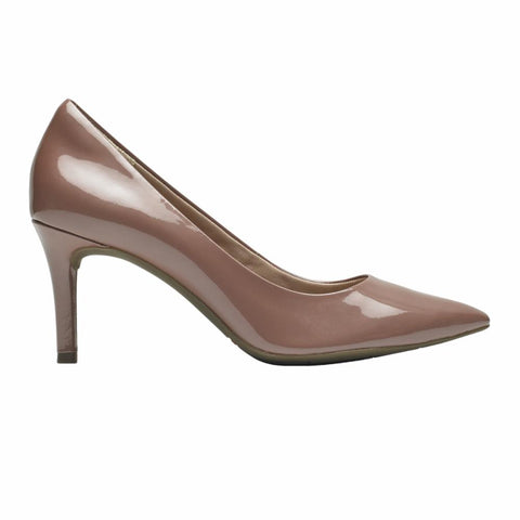 Rockport Women TOTAL MOTION 75mmPTH PLAIN PUMP PETAL PEARL/PATENT